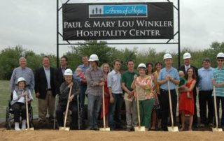 boles hospital ground breaking photo